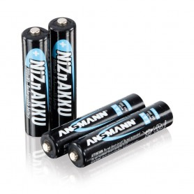 Ansmann, AAA 1.6V NiZn Ansmann Rechargeable Batteries 550mAh, Size AAA, NK186-CB, EtronixCenter.com