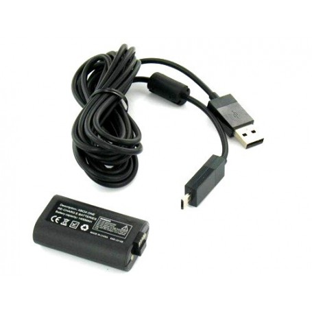 NedRo, Play & Charge Kit for XBOX One YGX605, Xbox One, YGX605, EtronixCenter.com
