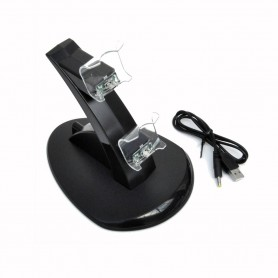 NedRo - Charging Station with LED Light for two PS4 Controllers YGP450 - PlayStation 4 - YGP450 www.NedRo.us