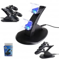 Charging Station with LED Light for two PS4 Controllers YGP450