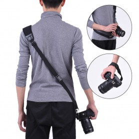 NedRo - Andoer rapid quick release soft camera shoulder sling neck strap - Photo-video accessories - AL628