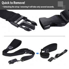NedRo - Andoer rapid quick release soft camera shoulder sling neck strap - Photo-video accessories - AL628 www.NedRo.us