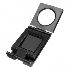 NedRo, 28mm Fold Texture Magnifier 10X Zoom Glass and Scale, Magnifiers microscopes, AL630, EtronixCenter.com