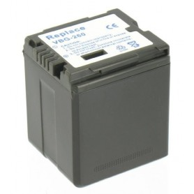 Battery compatible with Panasonic VW-VBG260 With Charger