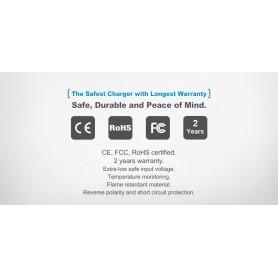 XTAR, XTAR VP2 battery charger EU-Plug, Battery chargers, NK199