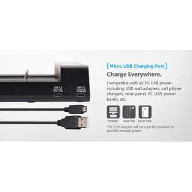 XTAR - Xtar Queen ANT MC6 Li-ion USB battery charger - Battery chargers - NK200