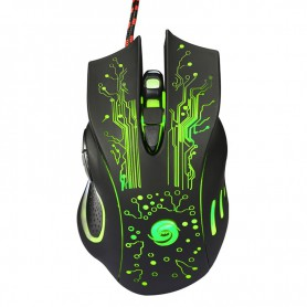 NedRo, 3200DPI LED Optical 6 Buttons 6D USB Wired Gaming Mouse, Various computer accessories, AL756, EtronixCenter.com