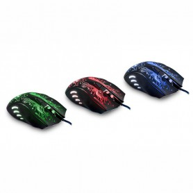 NedRo - 2400DPI LED Optical 6D USB Wired Gaming Mouse - Various computer accessories - AL782 www.NedRo.us