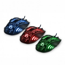 NedRo, 2400DPI LED Optical 6D USB Wired Gaming Mouse, Various computer accessories, AL782, EtronixCenter.com