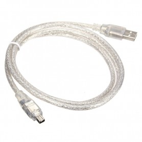 Firewire to USB Cable 4 pin 120cm