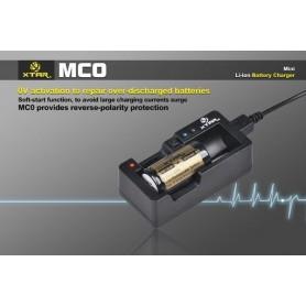 XTAR, XTAR MC0 USB battery charger, Battery chargers, NK205