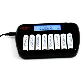 Japcell, 8 channels Japcell BC-800 battery charger, Battery chargers, BC800