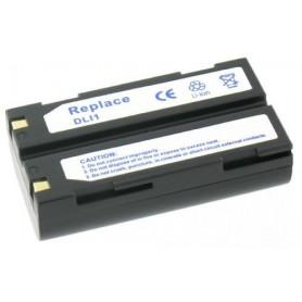 Oem - Battery compatible with Pentax D-Li1 - Pentax photo-video batteries - GX-V133