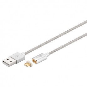 OTB, Goobay Magnetic Micro USB cable - silver, USB to Micro USB cables, ON3731