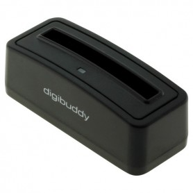 OTB - Digibuddy Akkuladestation 1301 compatible with the Samsung EB-575152 - black - Ac charger - ON3756