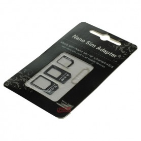 OTB, OTB SIM card adapter set (4 in 1) blister, SIM adapters, ON3774, EtronixCenter.com