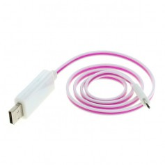 OTB - OTB data cable Micro-USB with animated running light - Other data cables  - ON3864-CB