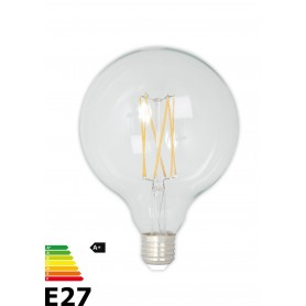 Calex, Vintage LED Lamp 240V 4W 350lm E27 GLB125 Clear 2300K Dimmable, Vintage Antique, CA077-CB, EtronixCenter.com