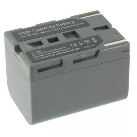 NedRo, Battery compatible with Samsung SB-L220, Samsung photo-video batteries, V080-GXL, EtronixCenter.com