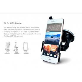Haicom, Haicom car Phone holder for HTC Desire 10 HI-490, Car window holder, ON3993-SET, EtronixCenter.com