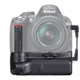 Travor, Battery Grip compatible Nikon D3300 D3200 D3100 DSLR, Nikon photo-video batteries, AL839