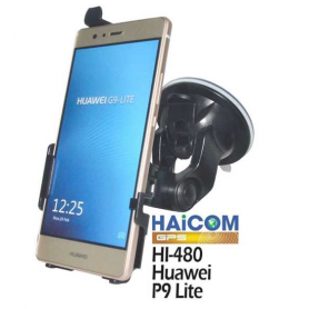 Haicom, Haicom car Phone holder for Huawei P9 lite HI-480, Car window holder, ON4505-SET, EtronixCenter.com