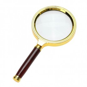 NedRo, 47mm 3x-Zoom Magnifier with handle, Magnifiers microscopes, AL838
