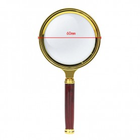 NedRo, 47mm 3x-Zoom Magnifier with handle, Magnifiers microscopes, AL838, EtronixCenter.com