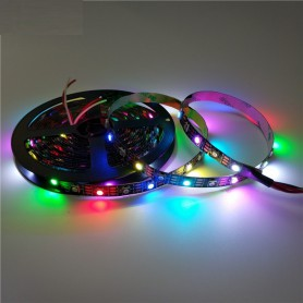 Unbranded, 5V 5 Meter WS2812B RGB Digital Led Strip 60 LED/m SMD5050, LED Strips, AL876