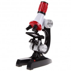 Unbranded - 100x-1200x Zoom Educational Microscope with LED Light - Magnifiers microscopes - AL832