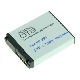 OTB, Battery for Sony NP-FR1 Li-Ion 1000mAh, Sony photo-video batteries, ON1453, EtronixCenter.com