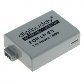 OTB - Battery for Canon LP-E5 Li-Ion - Canon photo-video batteries - ON1595 www.NedRo.us