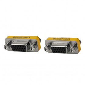 NedRo, Double VGA Female to VGA Female Wall Panel, VGA adapters, AL729