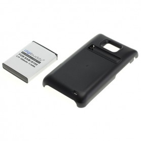 OTB, Battery for Samsung Galaxy S2 i9100 increased capacity with backcover, Samsung phone batteries, ON005, EtronixCenter.com