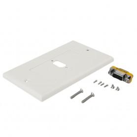 NedRo, VGA Female to VGA Female Wall Panel, VGA adapters, AL680