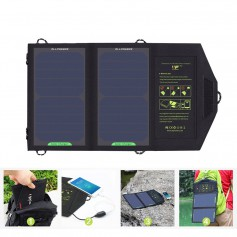 10W Portable Output 5V 1.6A Sunpower Solar Panel Charger