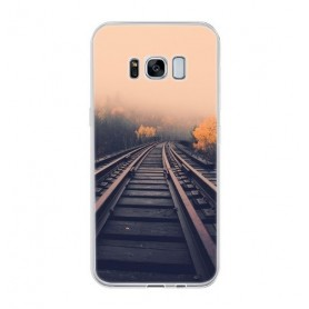 NedRo, TPU Case for Samsung Galaxy S8 Mystery Railway, Samsung phone cases, AL642