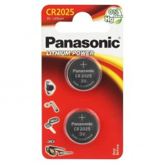 Panasonic - Panasonic CR2025 Lithium battery - Button cells - BL241-CB