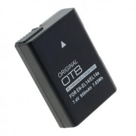 OTB - Battery for Nikon EN-EL14 / EN-EL14A Li-Ion LATEST VERSION 900mAh - Nikon photo-video batteries - ON4603 www.NedRo.us