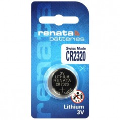 Renata, Swiss Made CR2320 Renata lithium battery, Button cells, BL246-CB