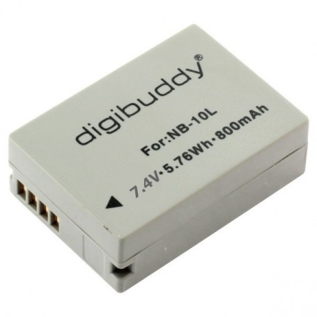 digibuddy - Battery for Canon NB-10L 800mAh ON2666 - Canon photo-video batteries - ON2666