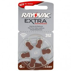 Rayovac - Rayovac Extra Advanced 312 / PR312 / PR41 Hearing Aid Battery - Hearing batteries - BL248-CB