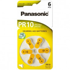 Panasonic - Panasonic 10 MF Hearing Aid Battery - Hearing batteries - BL251-CB