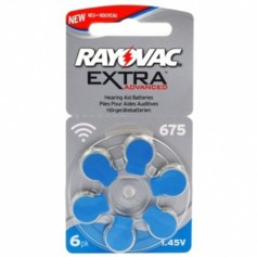 Rayovac - Rayovac 675 Extra Advanced Hearing Aid Battery - Hearing batteries - BS262-CB