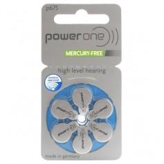 Varta, PowerOne 675, PR44 1.45V Hearing Aid Battery - Mercury Free, Hearing batteries, BS085-CB