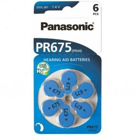 Panasonic - Panasonic 675 / PR675 / PR44 Hearing Aid Battery - Hearing batteries - BL260-CB