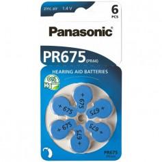 Panasonic 675 / PR675 / PR44 Hearing Aid Battery