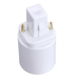 NedRo, G24 to E27 Base Converter Adapter, Light Fittings, LCA86-CB