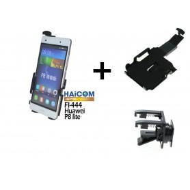 Haicom, Car-Fan Haicom Phone holder for HUAWEI P8 LITE HI-444, Car fan phone holder, ON4608-SET