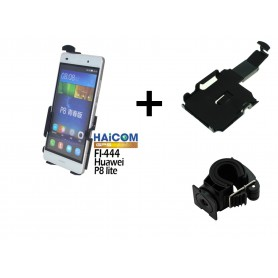 Haicom, Haicom bicycle phone holder for HUAWEI P8 LITE HI-444, Bicycle phone holder, ON4610-SET